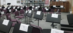 TAS Empty band room