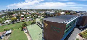 Villanova College Aerial view