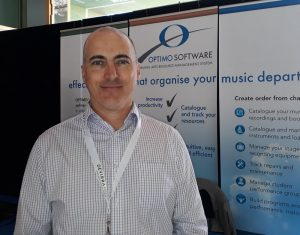 Villanova Director of Music Michael Jones